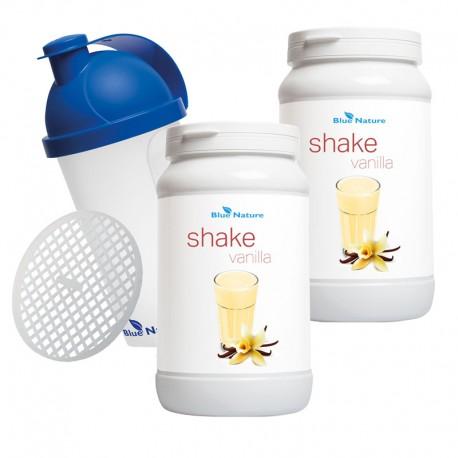 Zestaw 2 Koktajle waniliowe + Shaker