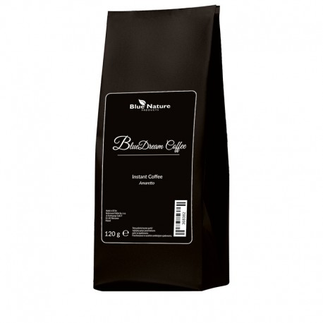 Kawa BLUE DREAM rozpuszczalna o smaku amaretto 120 g