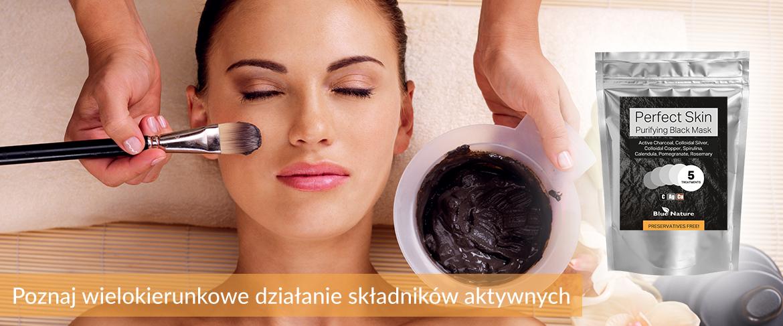 Czarna maseczka oczyszczająca Perfect Skin - Purifying Black Mask 500031
